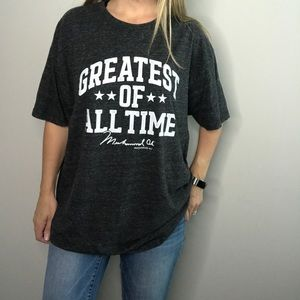 Greatest Of All Time Muhammed Ali graphic tee 2XL